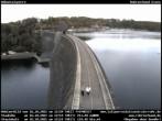 Archiv Foto Webcam Sperrmauer mit Blick auf den Möhnesee in Günne 08:00