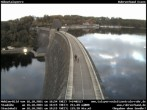 Archiv Foto Webcam Sperrmauer mit Blick auf den Möhnesee in Günne 12:00