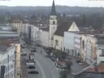 Archiv Foto Webcam Stadtplatz Mühldorf am Inn 10:00