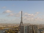 Archived image Webcam Panoramic View Paris - Eiffel Tower 04:00