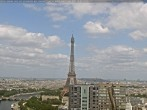 Archived image Webcam Panoramic View Paris - Eiffel Tower 08:00