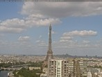 Archived image Webcam Panoramic View Paris - Eiffel Tower 10:00