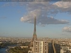 Archived image Webcam Panoramic View Paris - Eiffel Tower 12:00