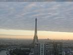 Archiv Foto Webcam Panorama Paris - Blick auf den Eiffelturm 07:00