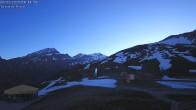 Archived image Webcam Leukerbad - Top station Rinderhütte 00:00