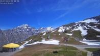 Archived image Webcam Leukerbad - Top station Rinderhütte 04:00