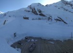 Archived image Webcam Saas Fee - Längfluh south 17:00
