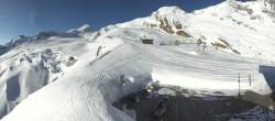 Archived image Webcam Saas Fee - Glacier 02:00