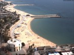 Archived image Webcam Barcelona - View to the Beach 06:00