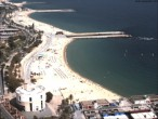 Archived image Webcam Barcelona - View to the Beach 08:00