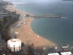 Archived image Webcam Barcelona - View to the Beach 10:00