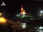 Archiv Foto Webcam Malerwinkel in Ramsau bei Berchtesgaden - Ortskirche St. Sebastian 18:00