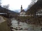 Archiv Foto Webcam Malerwinkel in Ramsau bei Berchtesgaden - Ortskirche St. Sebastian 06:00