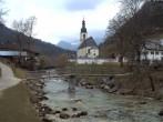 Archiv Foto Webcam Malerwinkel in Ramsau bei Berchtesgaden - Ortskirche St. Sebastian 12:00