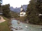 Archived image Webcam Ramsau - Berchtesgaden - St. Sebastian Church 00:00