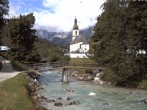 Archived image Webcam Ramsau - Berchtesgaden - St. Sebastian Church 04:00