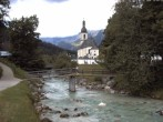 Archived image Webcam Ramsau - Berchtesgaden - St. Sebastian Church 06:00