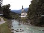 Archived image Webcam Ramsau - Berchtesgaden - St. Sebastian Church 08:00