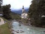Archived image Webcam Ramsau - Berchtesgaden - St. Sebastian Church 10:00