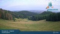Archived image Webcam Wernigerode - Zwölfmorgental ski resort 01:00