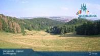 Archived image Webcam Wernigerode - Zwölfmorgental ski resort 03:00