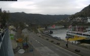 Archiv Foto Webcam Cochem Uferpromenade - Blick auf die Mosel 02:00