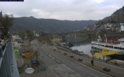 Archiv Foto Webcam Cochem Uferpromenade - Blick auf die Mosel 06:00