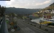 Archiv Foto Webcam Cochem Uferpromenade - Blick auf die Mosel 12:00