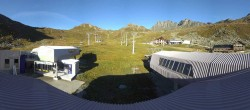 Archived image Webcam Samnaun: View from Alp Trida to Viderjoch 02:00