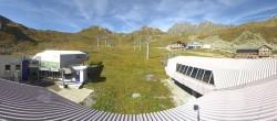 Archived image Webcam Samnaun: View from Alp Trida to Viderjoch 04:00