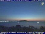 Archived image Webcam Zakynthos - Marine Park 23:00