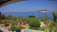 Archived image Webcam Zakynthos - Greek - Marine Park 09:00