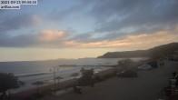 Archived image Webcam Corfu - Arillas Beach 02:00