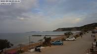 Archiv Foto Webcam Korfu - Blick auf den Strand bei Arillas 02:00