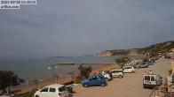 Archiv Foto Webcam Korfu - Blick auf den Strand bei Arillas 04:00