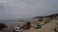 Archiv Foto Webcam Korfu - Blick auf den Strand bei Arillas 06:00