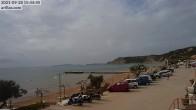 Archiv Foto Webcam Korfu - Blick auf den Strand bei Arillas 08:00