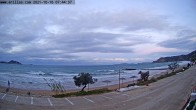 Archived image Webcam Corfu - Arillas Beach 00:00