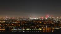 Archiv Foto Webcam Canary Wharf London 19:00
