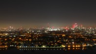Archiv Foto Webcam Canary Wharf London 21:00