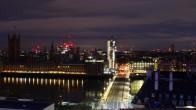 Archived image Westminster Bridge Webcam London 23:00