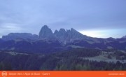 Archived image Webcam Seiser Alm - Panorama 00:00
