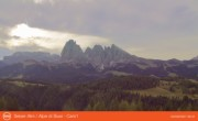 Archived image Webcam Seiser Alm - Panorama 02:00