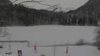 Archived image Webcam Oberstdorf: Freibergsee Sunbathing Area 06:00