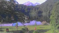 Archived image Webcam Oberstdorf: Freibergsee Sunbathing Area 02:00