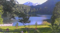 Archived image Webcam Oberstdorf: Freibergsee Sunbathing Area 12:00
