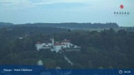 Archived image Webcam Passau: View from Veste Oberhaus 19:00