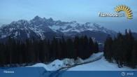 Archiv Foto Webcam Filzmoos: Bergstation Papagenobahn 19:00