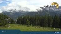 Archived image Webcam Filzmoos - Papageno Top Station 05:00