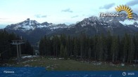 Archived image Webcam Filzmoos - Papageno Top Station 19:00